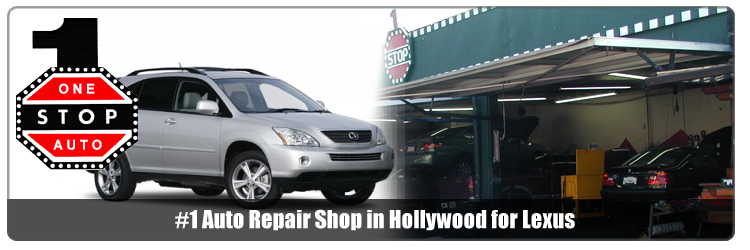hollywood lexus parts and service