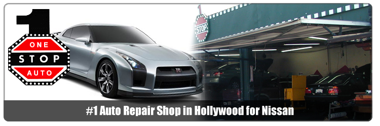 hollywood nissan parts and service